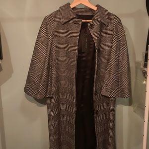 Checkered Zara Coat (Women's)